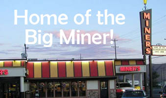 Miner's Drive In - PATIO SEATING AVAILABLE